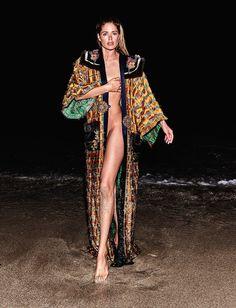Doutzen Kroes by Chris Colls for Vogue Ukraine June 2017