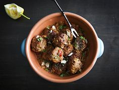 Spanish Meatballs. Nice little tapas?