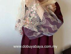 Abaya with lace 😍