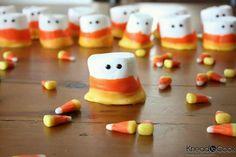 Candy corn marshmellows