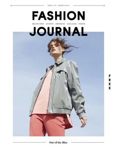 Fashion Journal issue 155   Out of the Blue