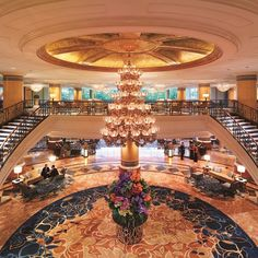 Because first impressions are everything: we're thrilled to share Makati Shangri-La, #Manila's inclusion in  AFAR Media's Top 10 Most Extravagant Lobbies in the World!