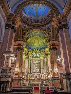 Igreja de Santo Inácio no bairro de Botafogo. Rio de Janeiro, Brasil.