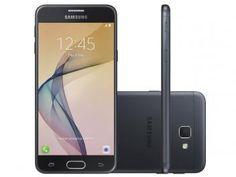 "Smartphone Samsung Galaxy J5 Prime 32GB Preto - Dual Chip 4G Câm. 13MP + Selfie 5MP Tela 5"" HD de R$ 999,00 por R$ 929,90"