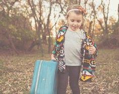 Children's Kimono // kids's kimono // Kimono Cardigan // toddler ...