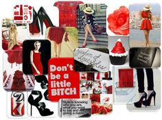 daily #inspiration - #red #black