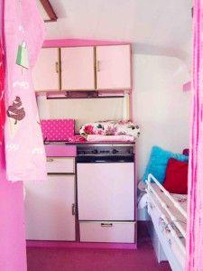 The happy pink caravan