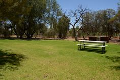 Grounds at Roxby Downs caravan park in Roxby Downs, SA.