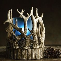Father's Day is coming, and they like good smelling things too. For the man in your life, this antler shade and blue simmer light is perfect, add some Macho Man sprinkles and its a fabulous gift for any man, for any occasion. To order, visit:  https://www.pinkzebrahome.com/carlalong