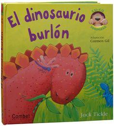 Una manada de dinosaurios se han reunido para hacer de las suyas en estas páginas desplegables que tanto gustan a los más pequeños. El diplodocus, el tiranosaurio, el pteranodonte o el ictiosaurio son animales de grandes dimensiones pero no son muy feroces y a los niños y niñas les encantará reír con sus aventuras. http://www.youtube.com/watch?v=Yrr1Se-STGA http://rabel.jcyl.es/cgi-bin/abnetopac?SUBC=BPSO&ACC=DOSEARCH&xsqf99=1378668