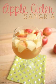 Cocktails Apple Cider Sangria