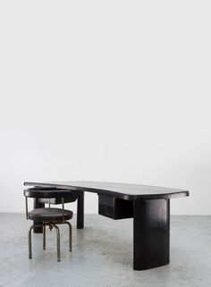 Charlotte Perriand and Pierre Jeanneret Desk and Chair, 1948. Galerie Patrick Seguin