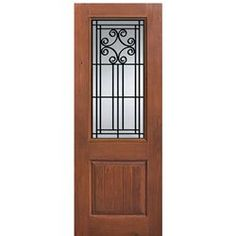 Beautiful 3 Lite Entry Door