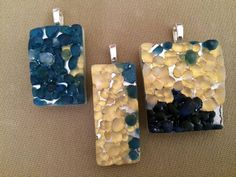 Caviar Collection:  3-dimensional, handmade, fused glass jewelry by Miss Olivia's Line.  Additional items posted at https://www.facebook.com/MissOliviasLine