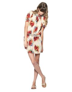 KAS Charlene digital print dress
