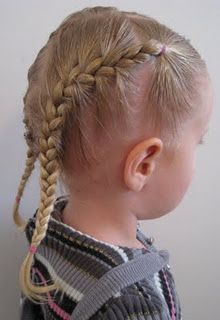 Toddler French Braids