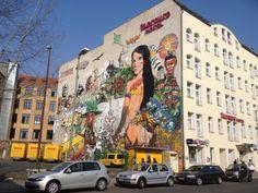 #Streetart #Berlin #Grafitti - Mercure Hotel