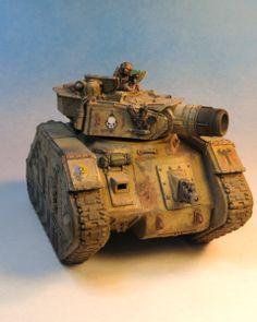 Lehman Russ - 40k - Imperial Guard - Demolisher