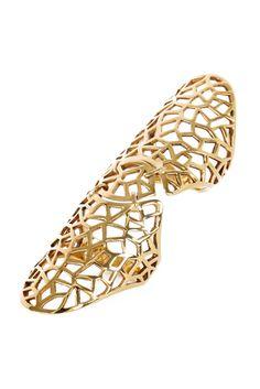 Double Ring Gaia Repossi for Zadig & Voltaire Jewelry Box, Jewelry Accessories, Jewelry Design, Jewellery, Gaia Repossi, Full Finger Rings, Double Ring, Cape, Peep Toe