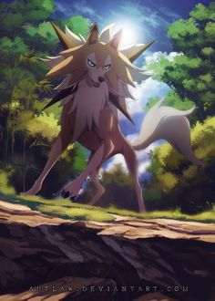 I need Lycanroc midday form in my sun team #PokemonSunMoon #Lycanroc #Pokemon
