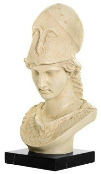 need this pallid bust of pallas just above my chamber door. i am not at all cheesy. not at all.
