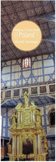 A wonderful UNESCO World Heritage Site, the Peace Churches of Poland are amazing.  We were able to sit in on a service, and the sound so sweet.  Richly decorated, they are must-sees when you visit this fascinating European country.  Click here and find out more.  ~ReflectionsEnroute: