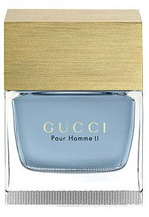 Gucci Pour Homme II Gucci cologne - a fragrance for men 2007. Mr G. My fav for him. Also suits me too.