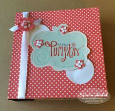 VIDEO: Paper Pumpkin meets Project Life – Storage Tips | Stampin Up Demonstrator - Tami White - Stamp With Tami Crafting and Card-Making Stampin Up blog