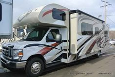 """2016 New Thor Motor Coach Outlaw 29H Class C in Colorado CO.Recreational Vehicle, rv, 2016 THOR MOTOR COACH Outlaw29H, 12V Fan- Kitchen, 12V Fan- O/H Bunk, 32"""" Exterior TV, Auto Leveling Jacks, Bug Screen Curtain in Garage, Exterior- After Burner HD, Interior- Rush Hour, Leatherette Jackknife Sofas in Garage, Olympic Cherry Cabinetry, Power Drivers Seat,"""