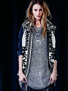 Free People Stitched Quills Jacket, $268.00