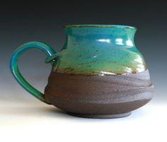Extra Extra Extra Large Coffee Mug Holds 55 oz by ocpottery, $40.00