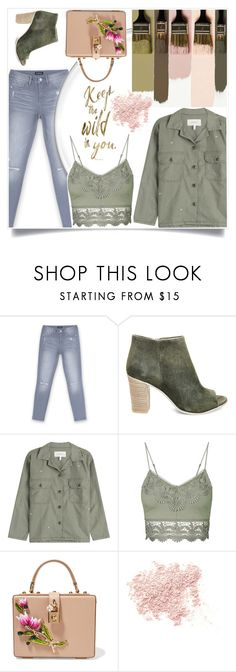 """""""Just once"""" by sumarie ❤ liked on Polyvore featuring Bebe, Steve Madden, The Great, Topshop, Dolce&Gabbana and Bare Escentuals"""
