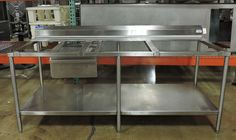 Universal Stainless 7MCT-B30U-TAC-1520-S Commercial Poly Top Work Table #UniversalStainless