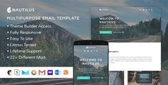 Nautilus - Responsive Email + StampReady Builder