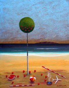 Paintings By Dimitris C. Milionis