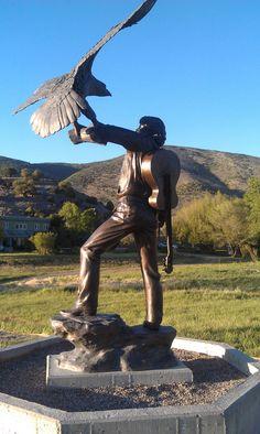 John Denver statue at Windstar.