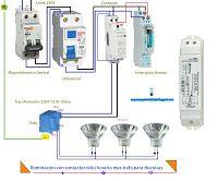 Esquemas eléctricos: Esquema eléctrico iluminación con contactor reloj ...