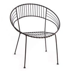 Round Metal Outdoor Chair