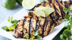 Margarita Grilled Chicken is salty lime goodness. This easy grill recipe is perfect for summer parties, backyard barbecues, and cookouts.