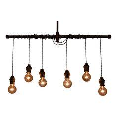 Pendant Lighting - Pendant Light - Steampunk Light - Lighting - Industrial Lighting - Ceiling Light - Lights - Pipe Light - Kitchen Light