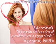 why do men love redheads