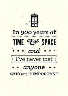 One Of My Favorite Lines From The Doctor