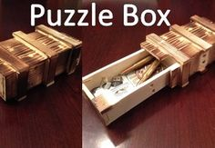 Diy Puzzle Box Easy