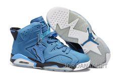 https://www.jordanay.net/air-jordan-6-blue-new-arrival.html AIR JORDAN 6 BLUE NEW ARRIVAL Only $83.00 , Free Shipping!