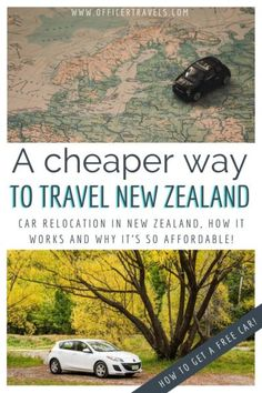 Did you know there's a way to get a car for road tripping New Zealand FOR FREE? We travelled from Auckland to Queenstown for under $500 including fuel, ferry and accommodation – find out more here! #budgettravel #NewZealand #travelnewzealand #travelguide #roadtrip