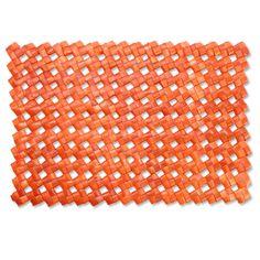 BaliZen Collection : Placemat-Orange Palm. Fair trade luxury.