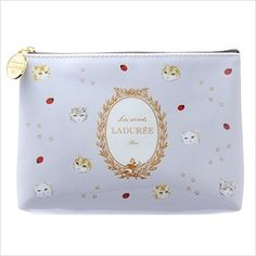 Flat Pouch Small / Chats / Les Secrets LADUREE par MARK'S