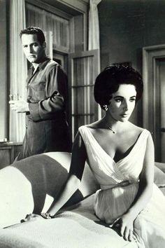 Liz Taylor and Paul Newman.