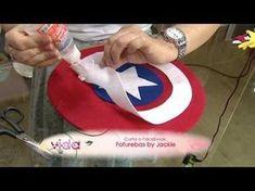 Saiba como fazer um lindo escudo do Capitão América! - YouTube