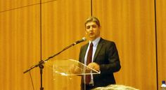 """O embaixador Reda Mansour fala no CIP em Curitiba sobre """"Israel e os novos cenários do Oriente Médio"""""""